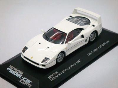 1/43 イクソ フェラーリ F40 1987 (ホワイト)