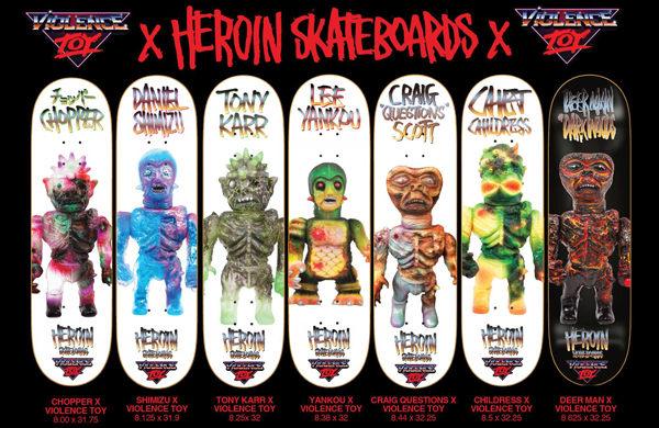 HEROIN SKATEBOARDS SPRING 2016