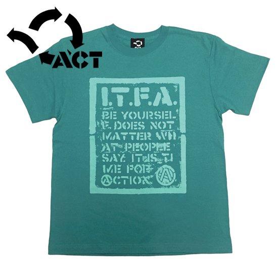 I.T.F.A. TEE - ACT -[ホワイト]へ