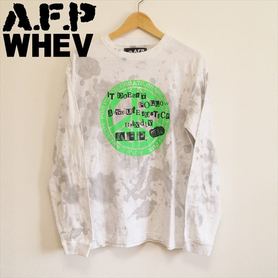 AFP x WHEVのDECOLORED ロンT&Tシャツ
