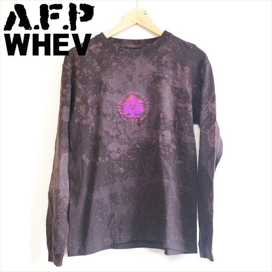 AFP x WHEV 【DECOLORED ロンT&Tシャツ】