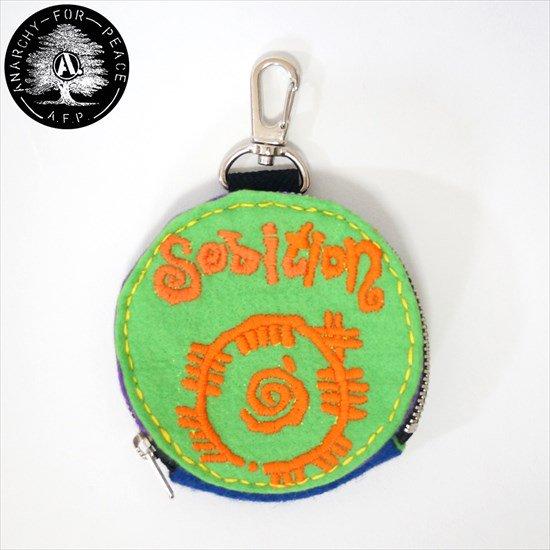 D手刺繍DIYサークルポーチ&DIYサークルポーチ[AFP]