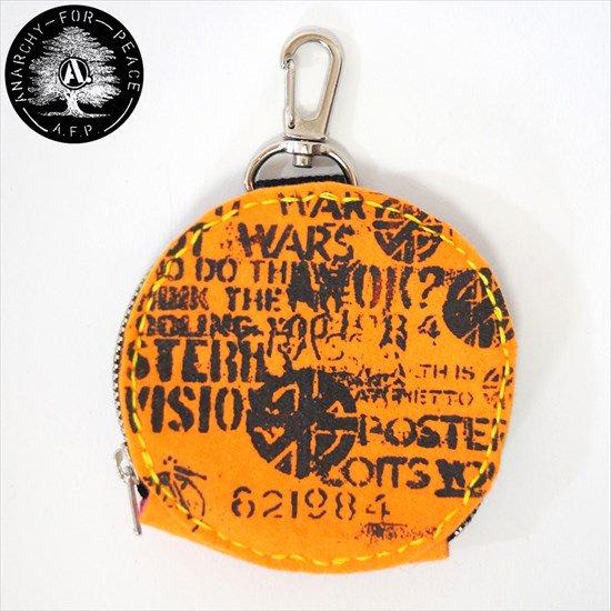手刺繍DIYサークルポーチ&DIYサークルポーチ[AFP]