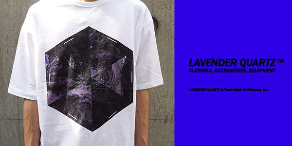 LAVENDER QUARTZ 19SS Crystal Structure BIG Tee