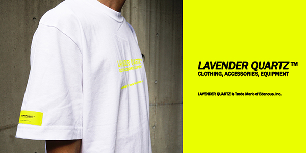 LAVENDER QUARTZ 19SS Cotton Tee