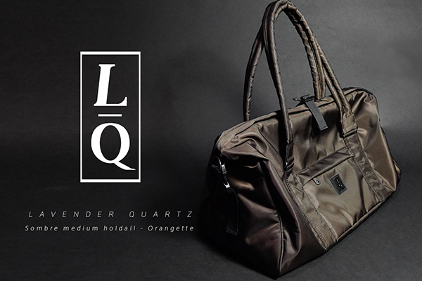 LAVENDER QUARTZ Sombre medium holdall