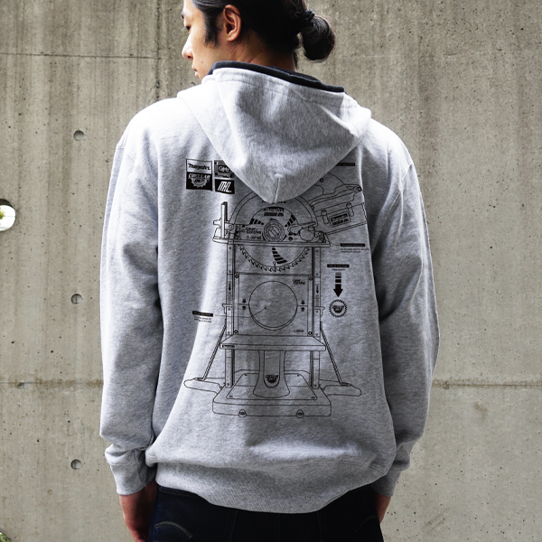 MHz Electric guillotine ZIP Hoodie