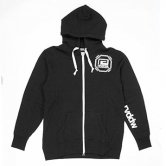 【16SS】reversal / SHOULDER LOGO ZIP HOODY [Black](パーカー)