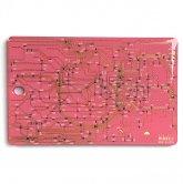 FLASH [東京] 回路線図 ICカードケース / moeco