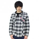 ハイスコアガール×G1000/アーケードスティックシャツ [ブラック](トップス)