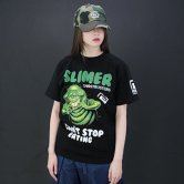 <img class='new_mark_img1' src='//img.shop-pro.jp/img/new/icons1.gif' style='border:none;display:inline;margin:0px;padding:0px;width:auto;' />【17AW】reversal / SLIMER EAT ANYTHING TEE [Black](Tシャツ)