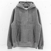 【17AW】reversal / EMBOSS LOGO SWEAT PARKA [HEATHER GRAY](パーカー)