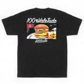 【17SS】reversal / rvddw BURGER COTTON TEE [Black](Tシャツ)