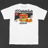 【17SS】reversal / rvddw BURGER COTTON TEE [White](Tシャツ)