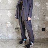 東京トガリ/ドレープジョガ・パンツ [gray](ボトムス)