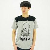 東京トガリ/フトボルティシャツ [black](あめあがり)(Tシャツ)