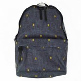 "【18SS】NADA.(ナダ)""Psychic-cross embroidery back pack"" (Indigo)(バッグ)"