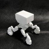 出雲重機(IZMOJUKI)1000toys「1/35 出雲重機プラモデル」 [ホワイト](その他)