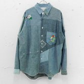 "【18SS】NADA.(ナダ)""Re-make chambray shirts"" (Blue.sax系)(トップス)"