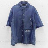 【18SS】chloma(クロマ) ENAフィルムシャツ [ブルー](トップス)