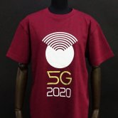 SMS/5G2020 Tee [Burgundy](Tシャツ)