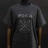 SMS/PDCA Tee [Heather black](Tシャツ)