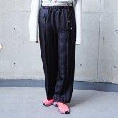 【19SS】hatra(ハトラ) Line Lining Pants [BLACK](ボトムス)