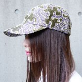 【19SS】hatra(ハトラ) MORPHO CAP [OLIVE](アクセサリー)