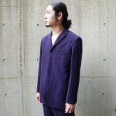 【19SS】hatra(ハトラ) Jacket 2C [PURPLE](トップス)