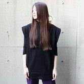 【19SS】hatra(ハトラ) Aro Pull NS [BLACK](トップス)