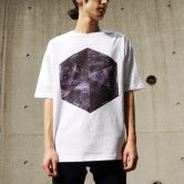 LAVENDER QUARTZ / 19SS Crystal Structure BIG Tee [WHITE](Tシャツ)