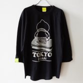 東京トガリ/ベスボルティシャツ(たいじゅそくてい)[ブラック]