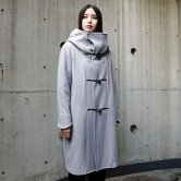 【19AW】HATRA(ハトラ) Toggle_Calm_Coat [Grey](アウター)