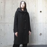 【19AW】HATRA(ハトラ) Toggle_Calm_Coat [Black](アウター)