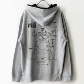 <img class='new_mark_img1' src='https://img.shop-pro.jp/img/new/icons1.gif' style='border:none;display:inline;margin:0px;padding:0px;width:auto;' />MHz - Electric guillotine ZIP Hoodie [GREY]
