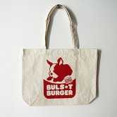 <img class='new_mark_img1' src='https://img.shop-pro.jp/img/new/icons1.gif' style='border:none;display:inline;margin:0px;padding:0px;width:auto;' />BULSxT BURGER Tote Bag