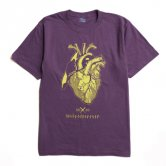 Half'n Half Wizard Tee  [Purple]