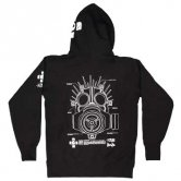 2011 GAS MASK MANUAL of KAIMAN - HOODIE [black]