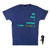 All That I Needed T-Shirts [Navy]