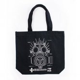 【復刻】GAS MASK MANUAL of KAIMAN CANVAS TOTE [black]