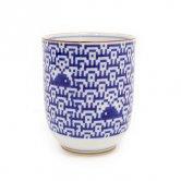 The Porcelains(ポーセリンズ)/ 波にクジラ 湯呑(テーブルウェア)