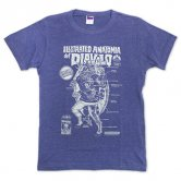 【復刻】Hal/ILLSTRATED ANATOMIA Tee [heather blue]