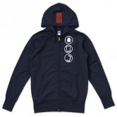 <img class='new_mark_img1' src='//img.shop-pro.jp/img/new/icons20.gif' style='border:none;display:inline;margin:0px;padding:0px;width:auto;' />【30%OFF!!】BLUENIGHT / Infographics Hoodie [navy]