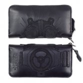 KAIMAN / Long wallet [black]