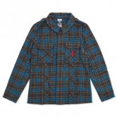 KIKURAGE / Wool Blended Field Jacket (blue)