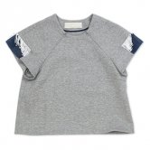 <img class='new_mark_img1' src='//img.shop-pro.jp/img/new/icons20.gif' style='border:none;display:inline;margin:0px;padding:0px;width:auto;' />【70%OFF!!】【16SS】HELMAPH&RODITUS(ヘルマフ&ロディタス) feel like trying tee [gray](トップス)