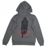 <img class='new_mark_img1' src='//img.shop-pro.jp/img/new/icons20.gif' style='border:none;display:inline;margin:0px;padding:0px;width:auto;' />【30%OFF!!】KAI / Wandering Corpse Pullover Hoodie [Gray]