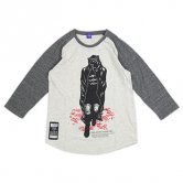 <img class='new_mark_img1' src='//img.shop-pro.jp/img/new/icons20.gif' style='border:none;display:inline;margin:0px;padding:0px;width:auto;' />【30%OFF!!】KAI / Wandering Corpse Long-Tee [Oatmeal/Charcoal]