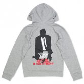 SIN / Shadow of the Heart Zip-Hoodie [Gray]