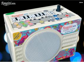 電子タンブーラ(2016年最新モデル) ~RAGINI DIGITAL ELECTRONIC TANPURA